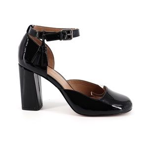 Bettye Muller Carly d'Orsay Patent Leather Pumps